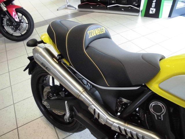 Details Zum Custom Bike Ducati Scrambler Icon Des Händlers Team