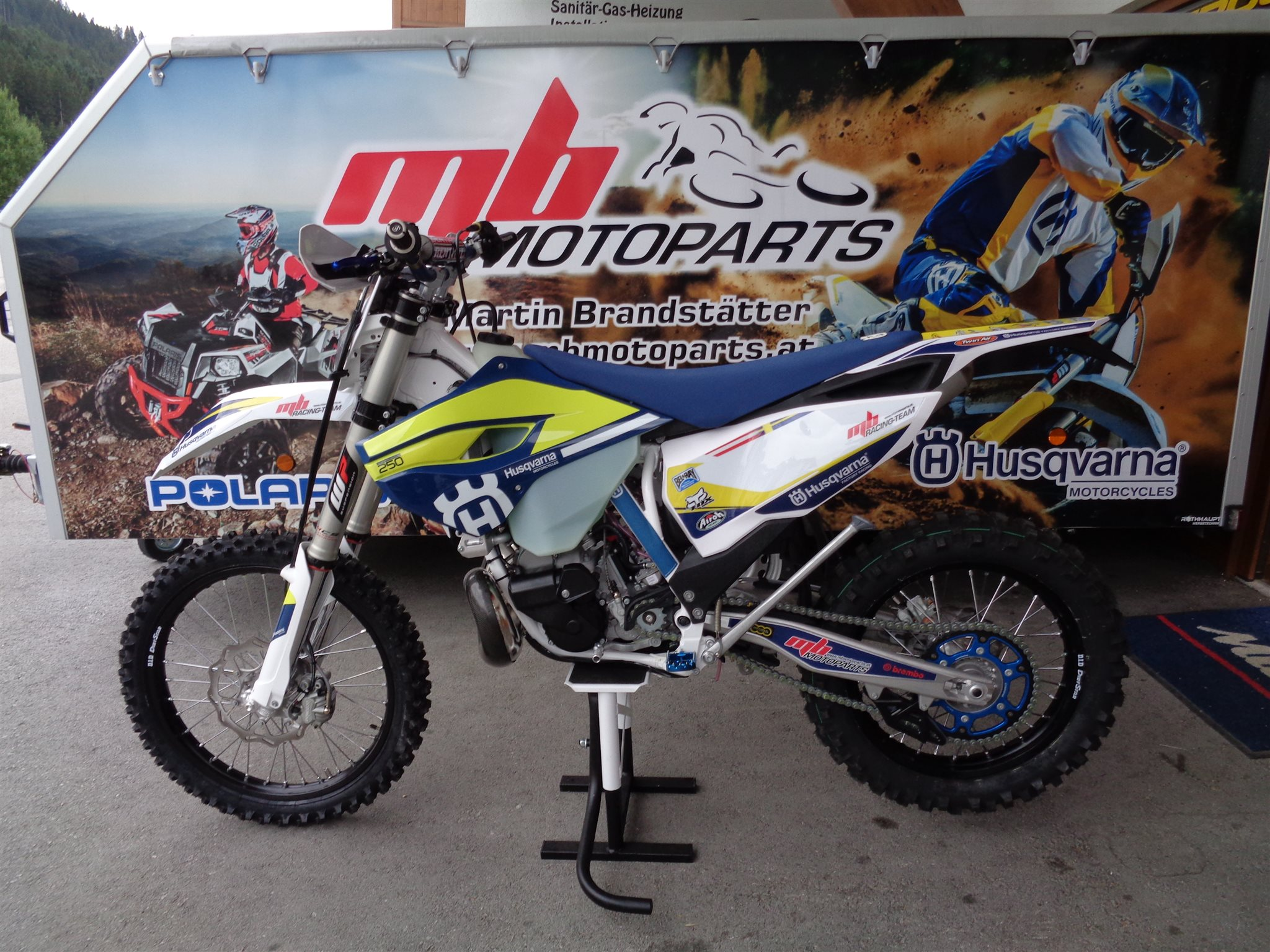 Husqvarna TE 250 mbRACING/TEAM Edt. 2016!!! Foto