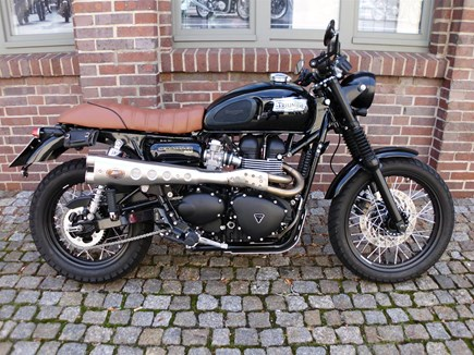 CUSTOMIZATIONS Triumph Scrambler