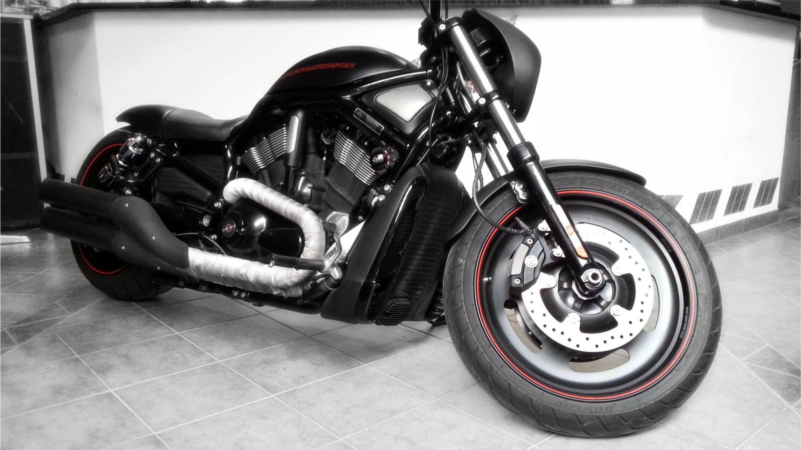 umgebautes motorrad harley davidson v rod night rod vrscd von motorrad kreiselmeyer gmbh. Black Bedroom Furniture Sets. Home Design Ideas