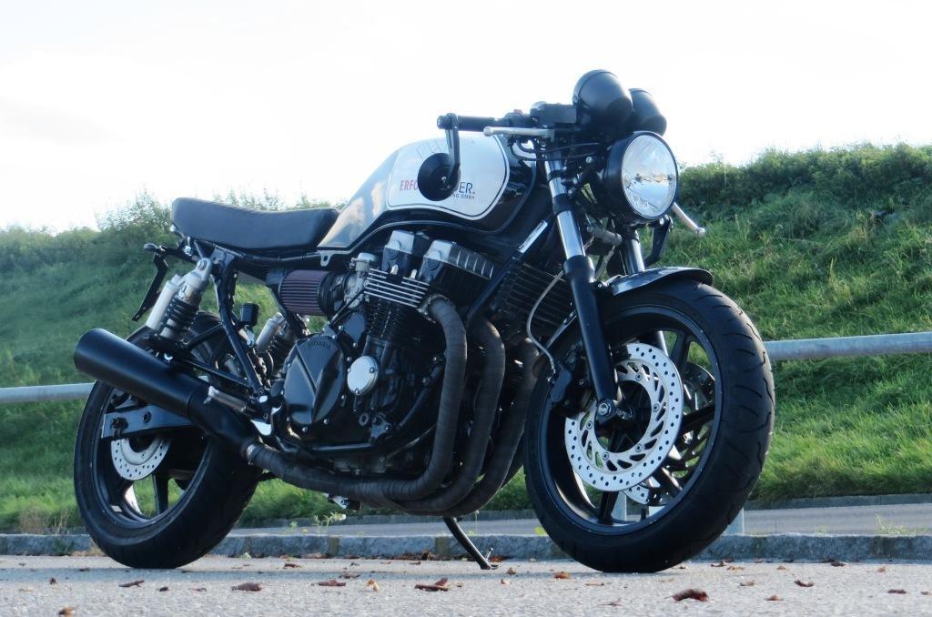 umgebautes motorrad honda cb 750 sevenfifty von stix motobikes