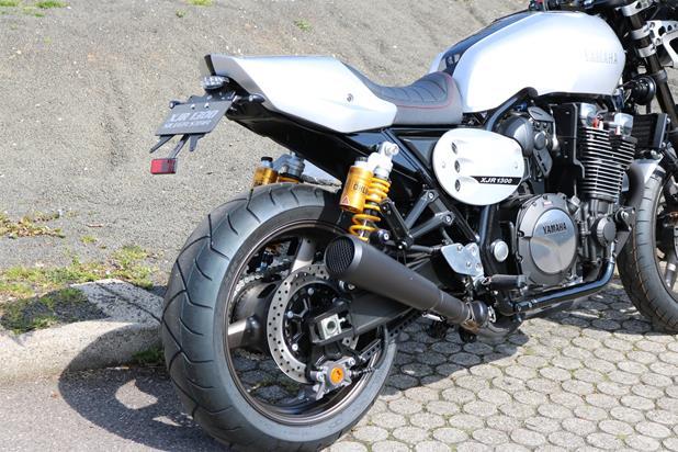 umgebautes motorrad yamaha xjr 1300 racer von motorcorner. Black Bedroom Furniture Sets. Home Design Ideas