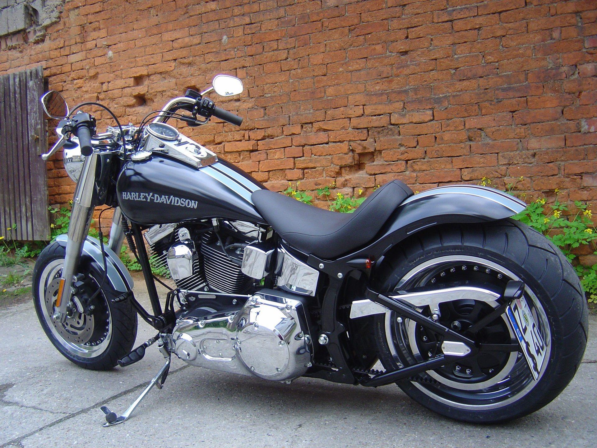 umgebautes motorrad harley davidson softail fat boy flstf von wild east motorcycles inh dirk. Black Bedroom Furniture Sets. Home Design Ideas
