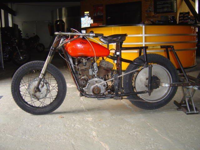 umgebautes motorrad harley davidson wl 750 flathead von wild east motorcycles inh dirk. Black Bedroom Furniture Sets. Home Design Ideas