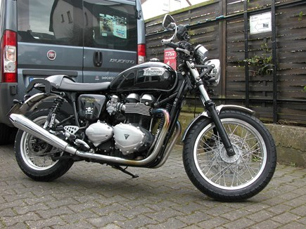 CUSTOMIZATIONS Triumph Thruxton