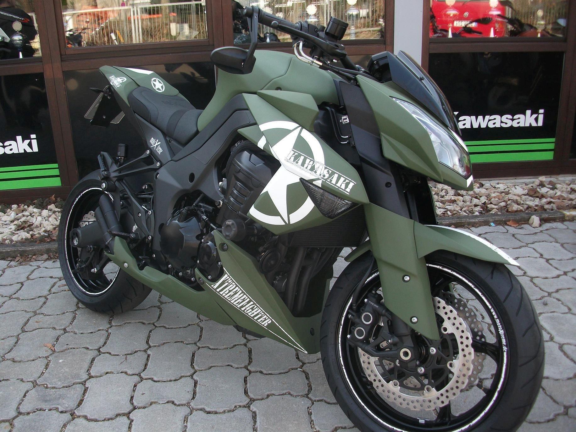 Details Zum Custom Bike Kawasaki Z1000 Des Handlers MotoXtreme GmbH