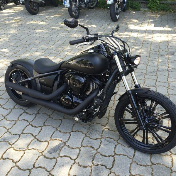 Kawasaki Mean Streak Custom