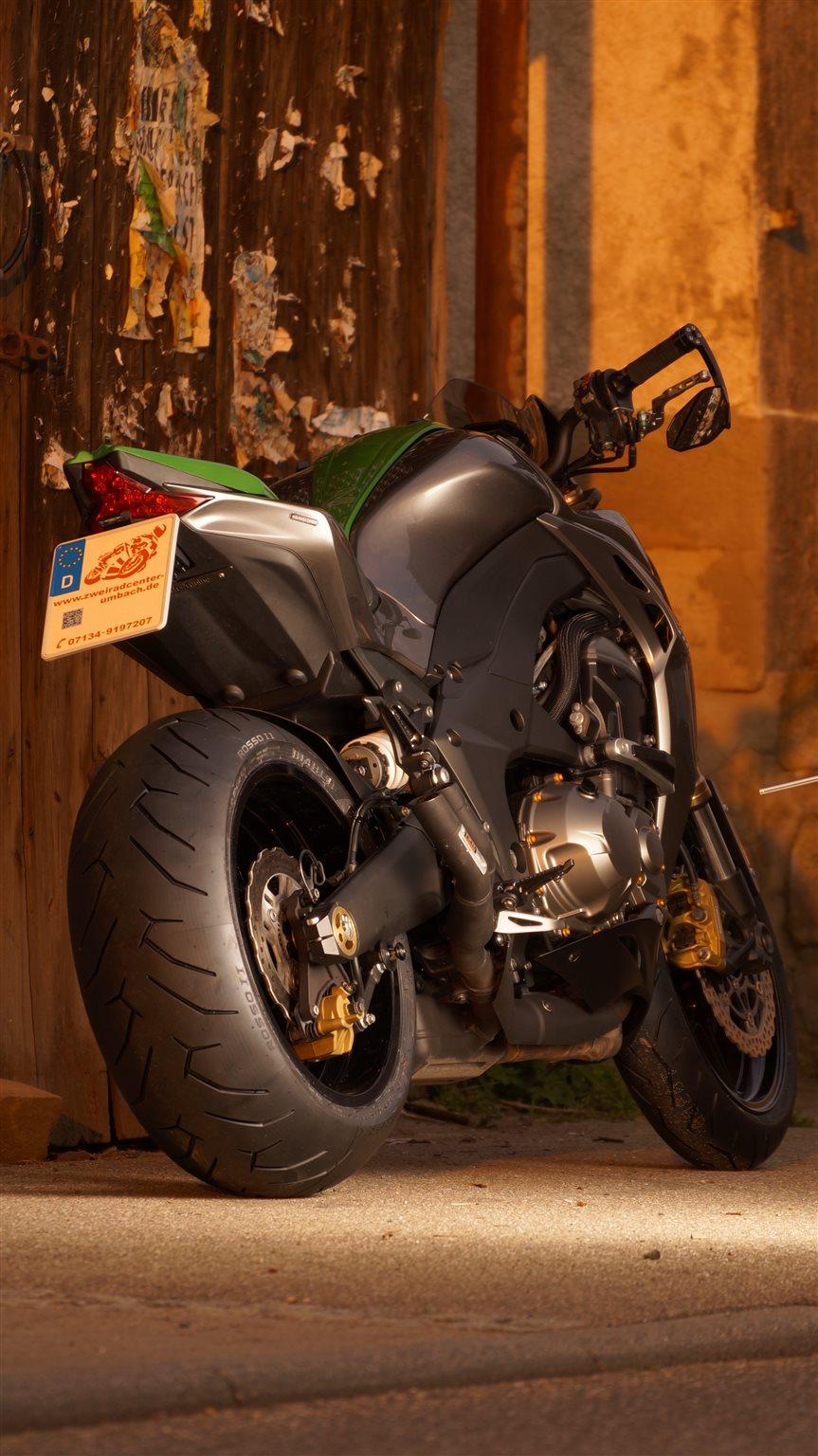 Details Zum Custom Bike Kawasaki Z1000 Des Handlers Zweiradcenter