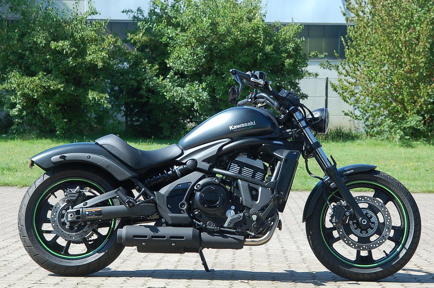 Details Zum Custom Bike Kawasaki Vulcan S Des Händlers Moto Service