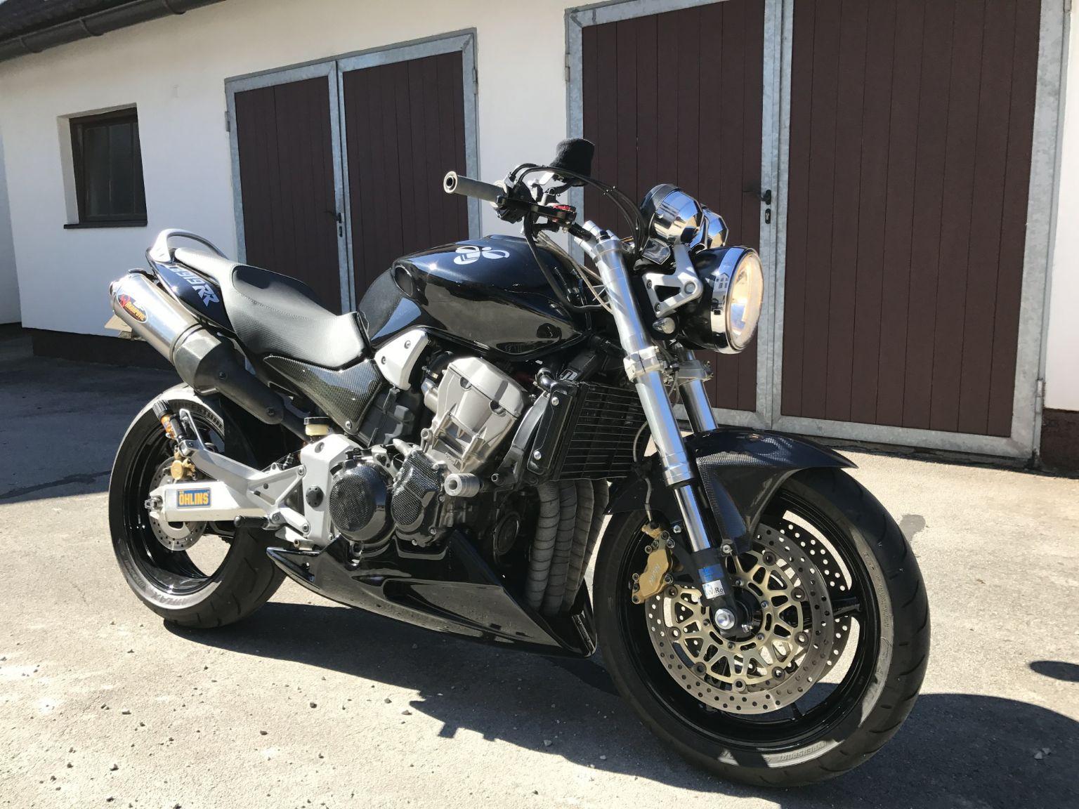 umgebautes motorrad honda cb 900 f hornet von kbnipsild