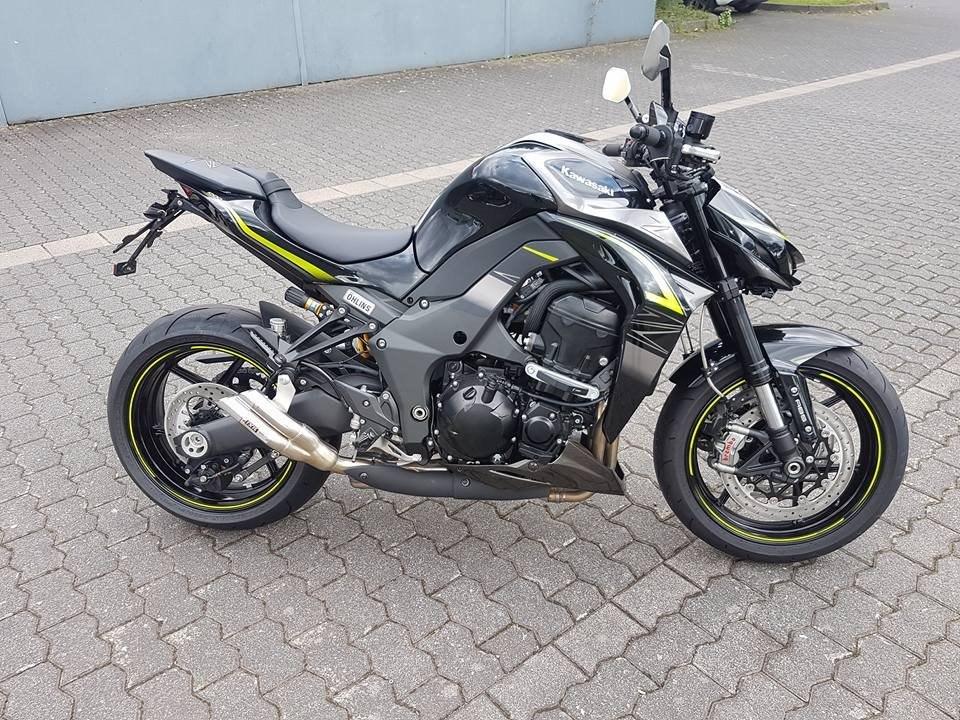 Details Zum Custom Bike Kawasaki Z1000 R Des Handlers Boning Motorrader