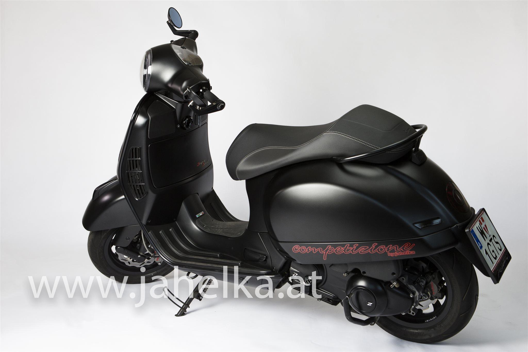 Details Zum Custom Bike Vespa Gts 300 I E Super Sport Des Handlers Jahelka Zweirad Gmbh Co Kg