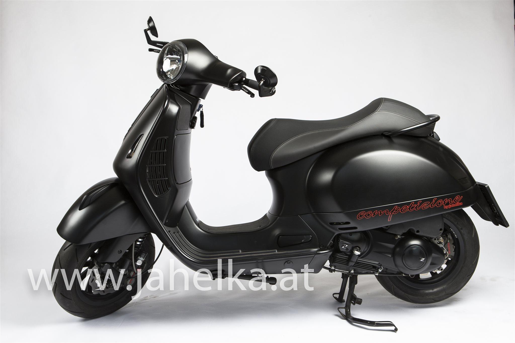 details zum custom bike vespa gts 300 i e super sport des. Black Bedroom Furniture Sets. Home Design Ideas
