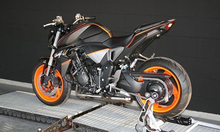 details zum custom bike honda cb 1000 r des h ndlers big. Black Bedroom Furniture Sets. Home Design Ideas