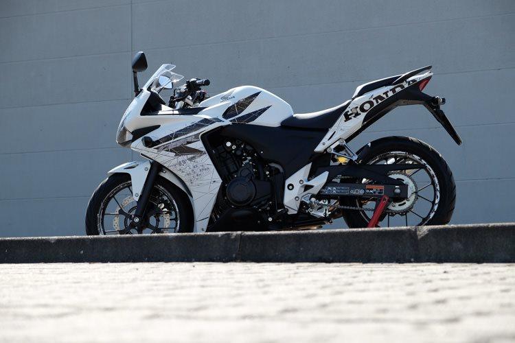 details zum custom bike honda cbr 500 r des h ndlers big. Black Bedroom Furniture Sets. Home Design Ideas