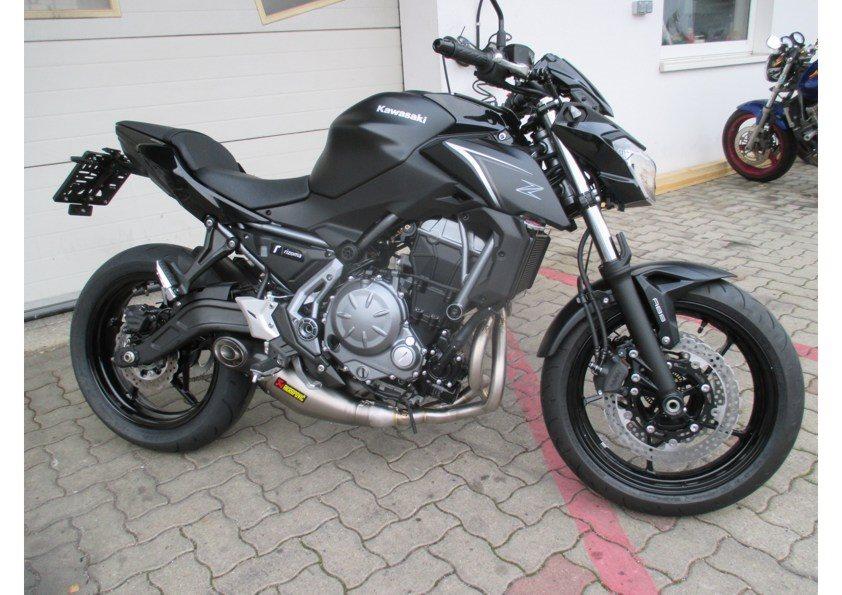 details zum custom bike kawasaki z 650 des h ndlers motor bike. Black Bedroom Furniture Sets. Home Design Ideas